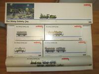 Märklin König-Ludwig-Zug 2880 4396 Spur H0 Dampflok Tristan 5 Wagen Sockel OVP