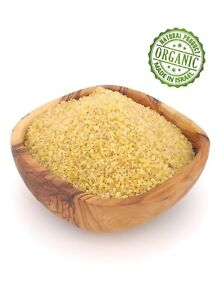 Bulgur Thick Wheat Groats Kosher Israeli Product Food Jerusalem Organic Healthy