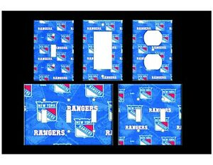 NEW YORK RANGERS #3 Light Switch Covers Home Decor Outlet MULTIPLE OPTIONS
