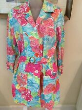 NWOT Lilly Pulitzer ~PALM BEACH~ BRIGHT FLORAL JACKET (MEDIUM) ~SO A PEELING~