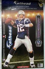 "Tom Brady Fathead Teammates - New England Patriots 9"" x 16.5"" NEW Wall Locker"