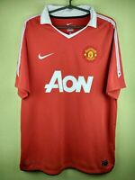 0f5b801f1 Manchester United jersey large 2010 2011 home shirt 382469-623 Nike  football red