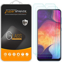 Supershieldz for Samsung Galaxy A50 Tempered Glass Screen Protector, 9H Hardness