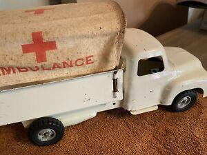 Buddy L, Tonka, Structo pressed steel ambulance