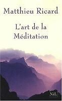 L'Art de la Méditation de Matthieu Ricard | Livre | état bon
