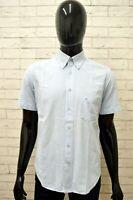 Camicia CARRERA Uomo Taglia Size M Chemise Shirt Maglia Man Cotone Manica Corta