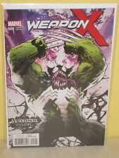 WEAPON X #8 - Venomized Variant - GREG LAND - Hulk / Wolverine - MARVEL Weapon H