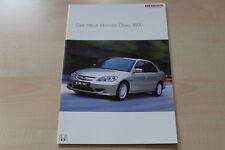 88037) Honda Civic IMA Prospekt 12/2003