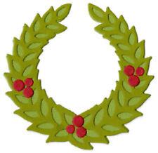 "Quickutz  Die 4 x 4"" dies Xmas Wreath"