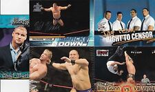 2017 TOPPS WWE BORN IN OAKVILLE CANADA 5 VAL VENIS WRESTLING CARDS