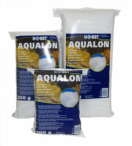 Hobby Aquarium Wool 100g 250g 500g 1000g 1kg Synthetic Filter Wool Polymer Media