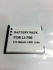 Battery for Olympus Camera Li-70B D-705 D-710 D-715  VG-120 VG-130 VG-140 VG-145