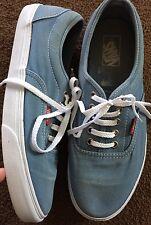 Para Hombre Azul Vans.. UK Size 9.5... gc