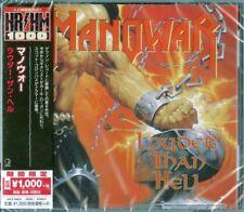 MANOWAR-LOUDER THAN HELL-JAPAN CD Ltd/Ed B63