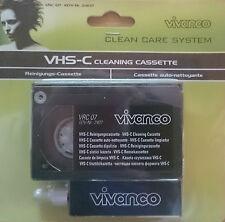 Vivanco VHS-C S-VHS-C CAMCORDER Reinigungs Set VRC 07 Kassette Cleaner, neu