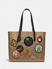 Wizard Of Oz Highline Tote In Signature Canvas With Patches NWT!