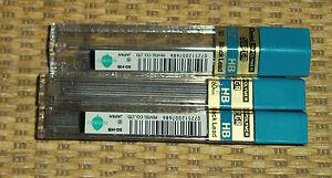 Pentel Pencil LEAD | *NEW* 0.7mm HB (x3) Refills SUPER Hi-Polymer