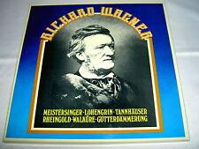 5 LPs  R: Wagner Meistersinger -Götterdämmerung 1978