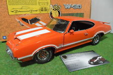 OLDSMOBILE 4-4-2 W-30 orange 1970 au 1/18 EXACT DETAIL WCC306W voiture miniature