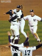 MLB - DAILY NEWS PHOTO - NY YANKEES - MARIANO RIVERA + JORGE POSADA