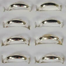 100 SILVER BAND RING RT626 unisex jewelry bulk lot rings men ladies wedding new