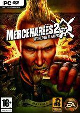 NEW & SEALED! Mercenaries 2 World in Flames PC DVD Game UK