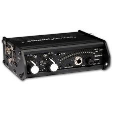Sound Devices MixPre-D 2-Kanal Stereo Mischer mit Digitalausgang und Tragetasche