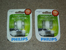(2) NEW PACKS OF 2 PHILIPS LONGER LIFE 12961 DOME CARGO LIGHT BULBS 12961LLB2