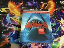 JAWS 4K 45 anniversary limted edtion brand new sealed RARE  and blu ray