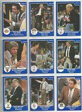 1985 Star Company NBA Coaches 10-card Basketball Set   Pat Riley Jack Ramsey