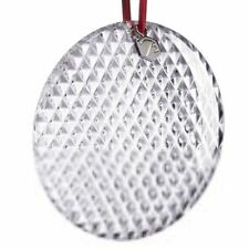 BACCARAT Crystal NOEL DIAMANT Diamond BAUBLE  ORNAMENT 2014 New in Box