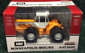 YELLOW CHASER Minneapolis-Moline A-4AT-1600 4WD W/Duals Prestige In 1/32 Scale
