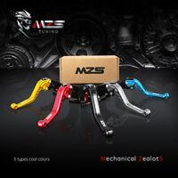 MZS Short Clutch Brake Levers for Honda CBR600RR 2003-2006/CBR954RR 2002-2003 US