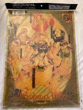 Sakura Wars Artcrystal Poster Translucent No. 5-B Collector's Item Rare