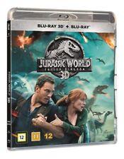 Jurassic World Fallen Kingdom 3D + 2D Blu Ray