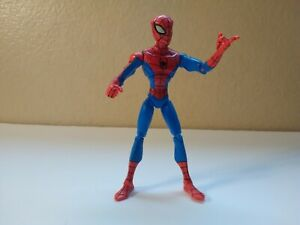 """Spectacular Spider-Man Animated Electro Blast Attack 2008 6"""" Loose Figure Only"""
