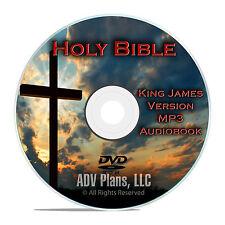 The King James Bible KVJ, MP3 Audiobook, 66 books unabridged, 86 hour CD DVD F24