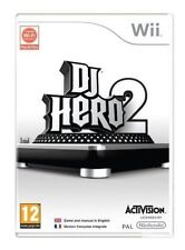 Nintendo Wii Game - DJ Hero 2 Without Software UK & Boxed