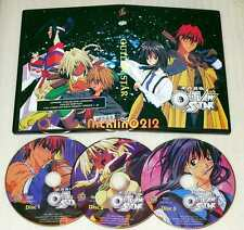 OUTLAW STAR Complete Anime TV series (DVD, 2006, 3-Disc) Box set English NEW USA