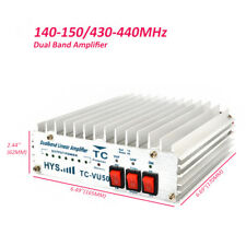 VHF UHF Power Amplifier 140-150&430-440MHz AMP for 3-8W Portable Two Way Radio