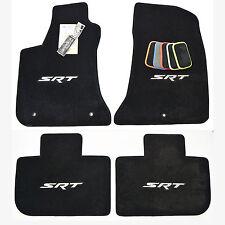 2011 - 2018 Chrysler 300 SRT Floor Mats - SRT Embroidery - USA High-Quality 32oz