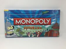 Futurama Monopoly Board Game Collector's Edition - Brand New, Sealed, Unopened