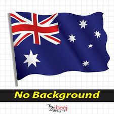 Australian Flag Lrg Southern Cross sticker Australia Day decal Aussie Flag proud