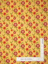 Sunflower Fabric - Country Primitive Sunflower 23821S QT Sunflower Garden - YARD