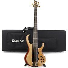 Ibanez BTB1905 Premium 5-String Eléctrico Bajo Con / Bolsa – Florid Natural