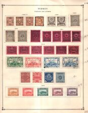 Turkey in Asia & Dues Collection from Great 1840-1940 Scott Intern Album
