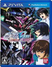 Used PS VITA Kidou Senshi Gundam Seed: Battle Destiny Free Shipping