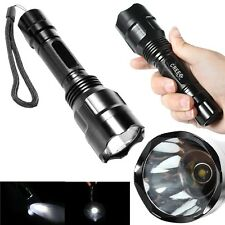 New Ultra Bright 2000LM C8 CREE XM-L T6 LED Flashlight  Focus Torch Lamp 5-Mode