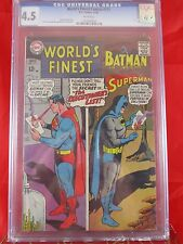DC Comics World Finest #171 CGC 4.5 White Pages 11/67 VHTF Batman and Superman