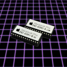Macintosh Plus M0001A Set of ROM Chips for Repair / Maintain